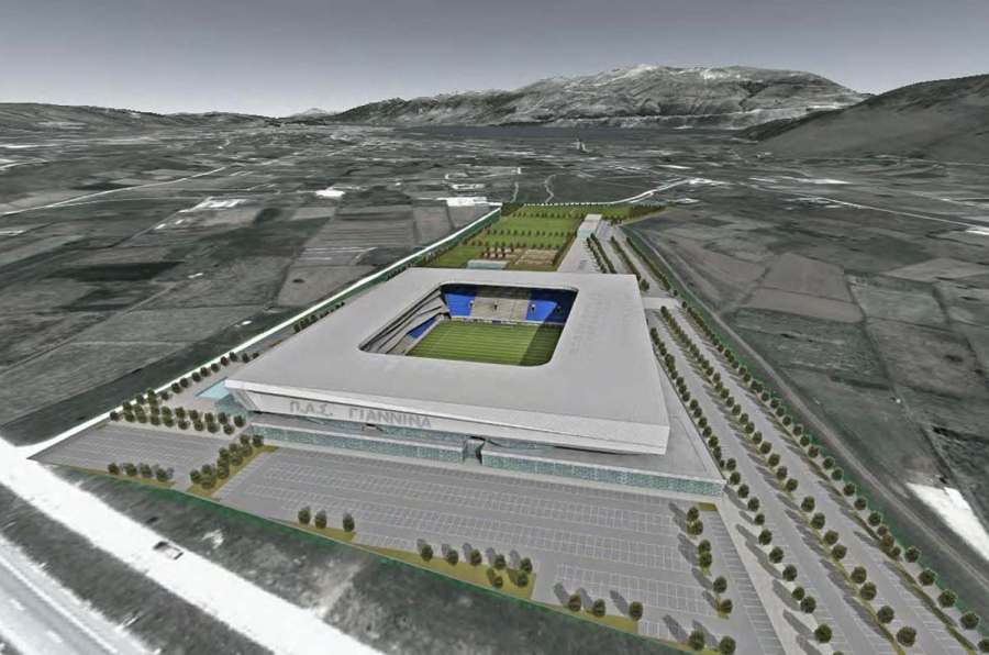 P.A.S. Giannina new Football Complex, Ioannina, Greece