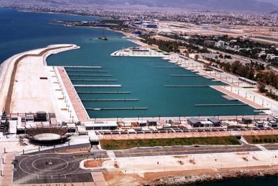 Agios Kosmas Olympic Marina (337 berths), Attica, Greece