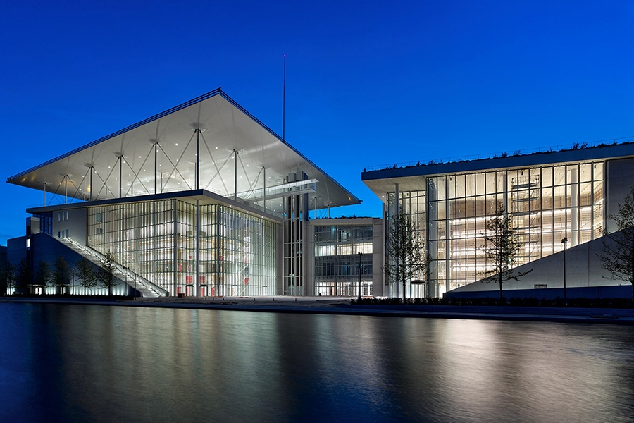 Stavros Niarchos Foundation Cultural Center, Athens - Greece