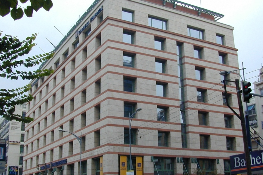 PIRAEUS BANK New Office Building and Disaster Center, Thessaloniki - Greece