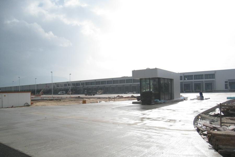 Logistics Centre, Patras, Greece